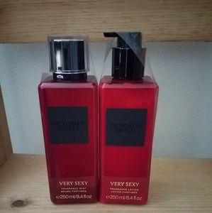 Victoria Secret spray and lotion